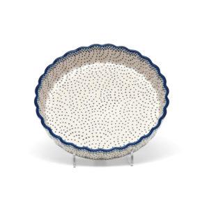 Bunzlauer Keramik Quiche Tarteform 23cm Dekor 61A Unikat