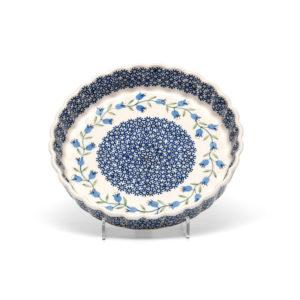 Bunzlauer Keramik Quiche Tarteform 23cm Dekor ASD