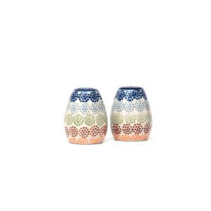 Bunzlauer Keramik Salzstreuer & Pfefferstreuer 2er Set AS37 Unikat Modern