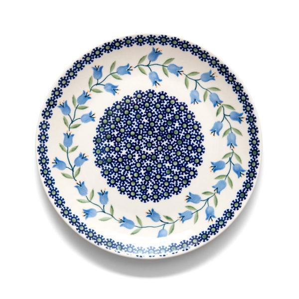 Bunzlauer Keramik Teller 22 cm Dekor ASD