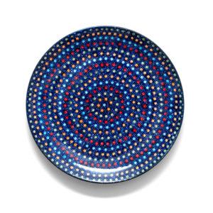 Bunzlauer Keramik Teller 22 cm IZ20 Unikat Modern signiert