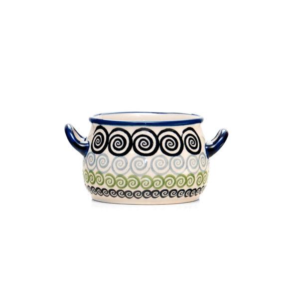 Bunzlauer Keramik Suppentasse 11cm Unikat Modern CGZC Handarbeit