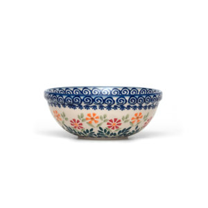 Bunzlauer Keramik Schüssel 15 cm Dekor JS14 Handarbeit Neu