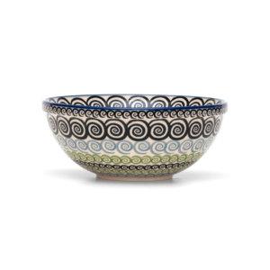 Bunzlauer Keramik Schüssel 20cm Dekor CGZC Unikat Modern Handarbeit Neu