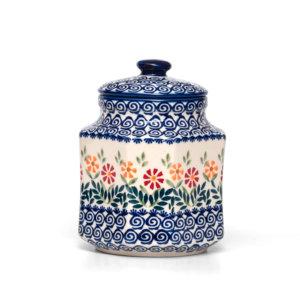 Bunzlauer Keramik Behälter Topf Vorratsdose 1 Liter JS14 Handarbeit