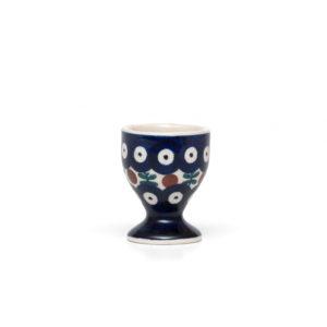 Bunzlauer Keramik Eierbecher mit Fuß Dekor 70