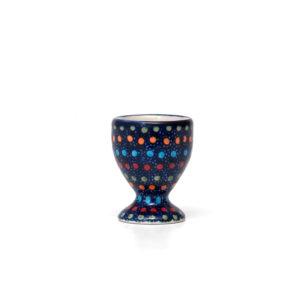 Bunzlauer Keramik Eierbecher mit Fuß IZ20 Unikat Modern signiert