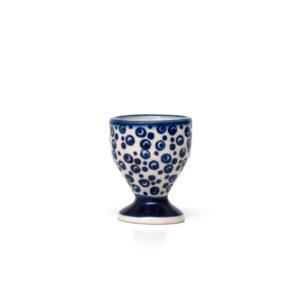 Bunzlauer Keramik Eierbecher mit Fuß Dekor MAGD