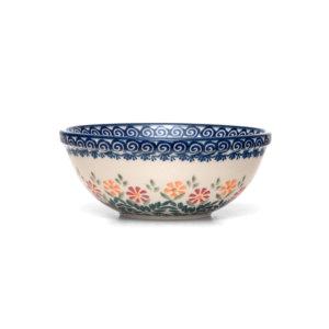 Bunzlauer Keramik Schüssel 17 cm Dekor JS14