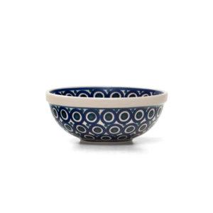 Bunzlauer Keramik Schüssel 17 cm Dekor 58 Handarbeit
