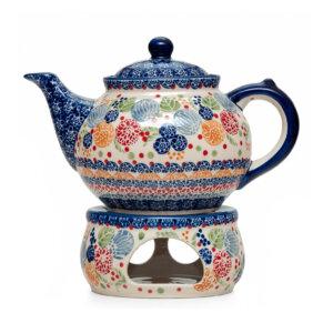 Bunzlauer Keramik Dekor KOKU Unikat signiert Handarbeit