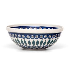 Bunzlauer Keramik Schüssel 24 cm Dekor 54 Handarbeit