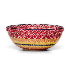 Bunzlauer Keramik Schüssel 24 cm CMZK Unikat Modern Handarbeit - 2.Wahl