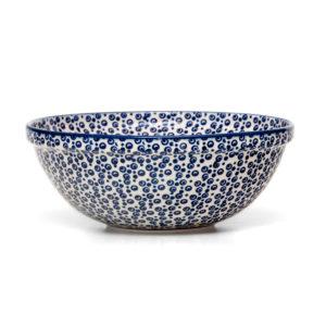 Bunzlauer Keramik Schüssel 24 cm Dekor MAGD Handarbeit