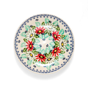 Bunzlauer Keramik Dessertteller 18cm Dekor MC20 Handarbeit - 2.Wahl