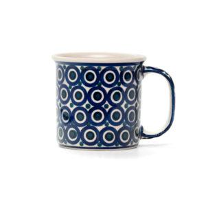 Bunzlauer Keramik Becher 350 ml Dekor 58