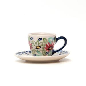 Bunzlauer Keramik Espressotasse mit Untertasse 70ml MC20