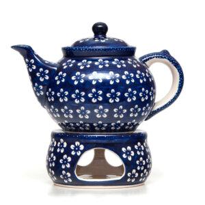Bunzlauer Keramik Dekor Kolor Love Kobalt Handarbeit