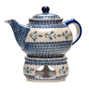 Bunzlauer Keramik Kanne mit Stoevchen 2.0L ASD Unikat Kopie