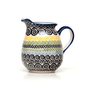 Bunzlauer Keramik Krug 1,0 Liter CZZC Unikat Modern