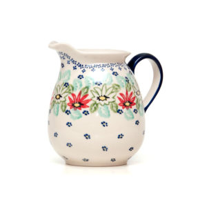 Bunzlauer Keramik Krug 1,0 Liter Dekor MC20