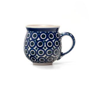 Bunzlauer Keramik Kugelbecher 300 ml Dekor 58