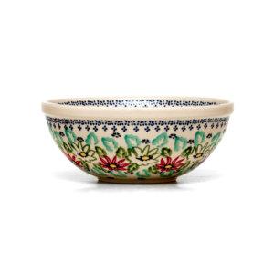 Bunzlauer Keramik Schüssel 20cm Dekor MC20 Handarbeit
