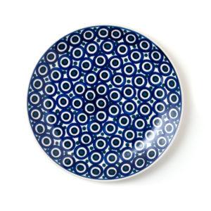 Bunzlauer Keramik Frühstücksteller 22 cm Dekor 58