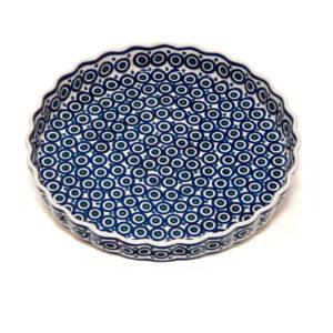 Bunzlauer Keramik Obstkuchenformen Quiche groß 30cm Dekor 58