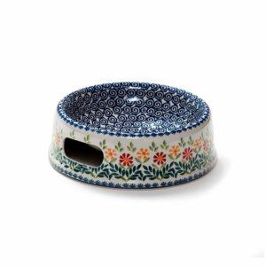 Bunzlauer Keramik Futternapf 21cm Dekor MAGM Handarbeit