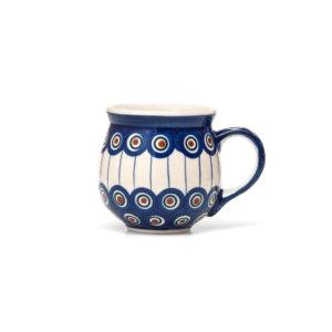 Bunzlauer Keramik Kugelbecher 200 ml Dekor 54A