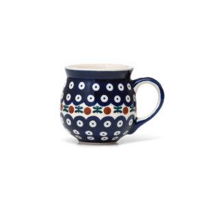Bunzlauer Keramik Kugelbecher 200 ml Dekor 70