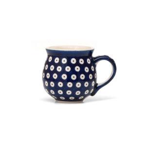 Bunzlauer Keramik Kugelbecher 200 ml Dekor 70A
