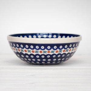 Bunzlauer Keramik Schüssel 24 cm Dekor 70 Handarbeit - 2.Wahl