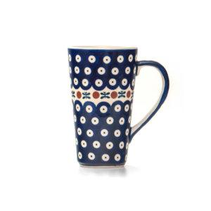 Bunzlauer Keramik Latte Tassen 400ml Dekor 70 Handarbeit