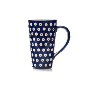 Bunzlauer Keramik Latte Tassen 400ml Dekor 70A Handarbeit