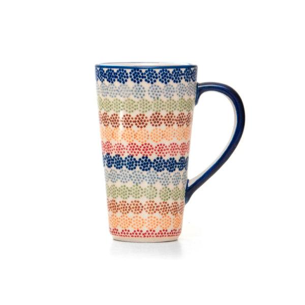 Bunzlauer Keramik Latte Tassen 400ml Dekor AS37 Unikat Modern