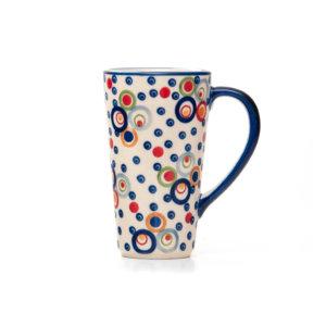 Bunzlauer Keramik Latte Tassen 400ml Dekor AS38 Unikat Modern