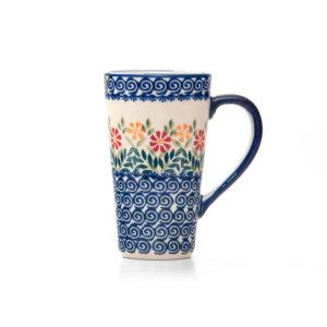 Bunzlauer Keramik Latte Tassen 400ml Dekor JS14 Handarbeit