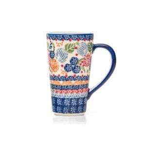 Bunzlauer Keramik Latte Tassen 400ml Dekor KOKU Unikat Modern signiert