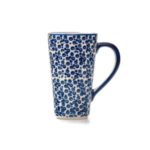 Bunzlauer Keramik Latte Tassen 400ml Dekor MAGD Handarbeit