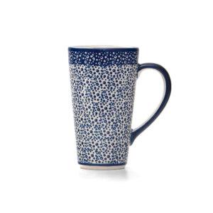 Bunzlauer Keramik Latte Tassen 400ml Dekor MAGM Handarbeit