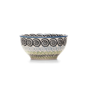 Bunzlauer Keramik Schale 13 cm Dekor CGZC Unikat Modern Handarbeit