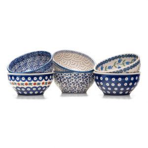 Bunzlauer Keramik Schalen 13 cm 6er Set Neu
