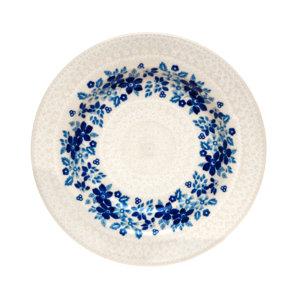 Bunzlauer Keramik Suppenteller 24cm Kollektion Blaue Linie SB7 signiert