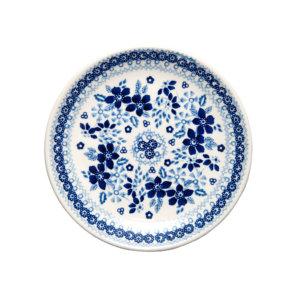 Bunzlauer Keramik Dessertteller 18cm Blue Line SB1 Unikat Modern signiert