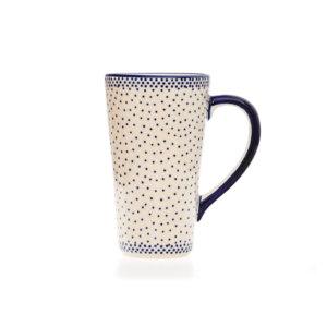 Bunzlauer Keramik Latte Tassen 400ml Dekor 61A Unikat Handarbeit