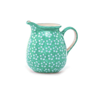 Bunzlauer-Keramik-Krug-1L-Kolor-Love Mint