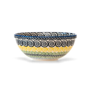 Bunzlauer Keramik Schüssel 20cm Dekor CZZC Unikat Modern Handarbeit Neu