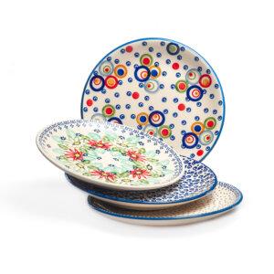 Bunzlauer Keramik Teller Set